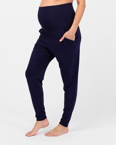 Blissfully comfortable and breathable, these pants will soon become an integral piece of your ethical maternity wardrobe. A soft and cooling high waistband comfortably covers your bump and can be folded down to create a low rise style. A tapered leg flatters your shape and creates the perfect fit.  Organic bamboo High rise, elasticized waist Side hip pockets Thermoregulating sleepwear Natural and hypoallergenic bamboo benefits such as odour-wicking, antibacterial, moisture-wicking and… Maternity Wardrobe, Pregnancy Wardrobe, Bump, Perfect Fit, Bliss, Bamboo, Capri Pants, Organic, Shape