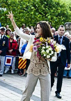 La princesa Mary de Dinamarca #royals #royalty #princess #denmark
