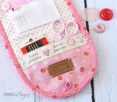 Hexie Sewing Kit PDF Pattern by A Spoonful of Sugar Designs