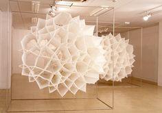 Textile Art Sculpture, Koji Takaki.