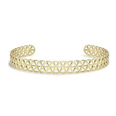 Seed of Life choker in yellow gold   Akasha Flower of Life collection   Noor Fares