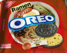 """""""national junk food day"""" - In honor of National Junk Food Day on July MTV Other put together some mock flavors that are just as fake as the Fried Chicken Oreo that̵. Weird Oreo Flavors, Pop Tart Flavors, Cookie Flavors, Gross Food, Weird Food, Fake Food, Funny Food Memes, Food Humor, Oreos"""