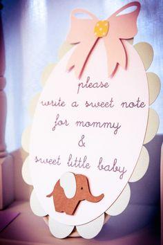 Elephant Neutral Baby Shower - Bella Paris Designs