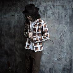 1960年代のボックスシャツは1番好きな年代と形。このチェックシャツはプリントという珍しさもあるんですよ。そしてマイルドな色味が堪りません。  #60s #shirts #checkshirts #boxshirts #paddlesaddle #vintage #fashion #style #cordinate #シャツ #チェックシャツ #ボックスシャツ #ヴィンテージ #スタイル #ファッション #コーディネート #古着