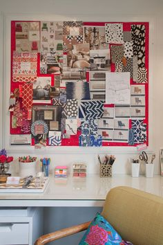 Rosa Beltran Office via Apartment Therapy