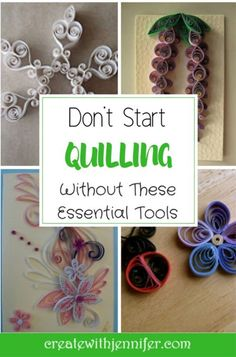Materials Needed For Paper Quilling: Hit the Ground Rolling! Required Materials for Paper Quilling: Hit the Ground Rolling! Neli Quilling, Diy Quilling Crafts, Paper Quilling Earrings, Paper Quilling Flowers, Quilled Paper Art, Quilling Cards, Quilled Roses, Paper Crafts, Quilling Comb