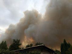 Incendie à Saint-Jean-d'Illac (33) : les images impressionnantes du feu - SudOuest.fr