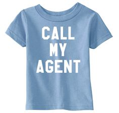 Call My Agent Children's Light Blue T-shirt