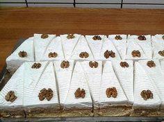 Diós szelet - mentsd el Húsvétra! - Blikk Rúzs Poppy Cake, Breakfast Recipes, Dessert Recipes, Hungarian Recipes, Delicious Desserts, Food And Drink, Sweets, Snacks, Holiday Decor