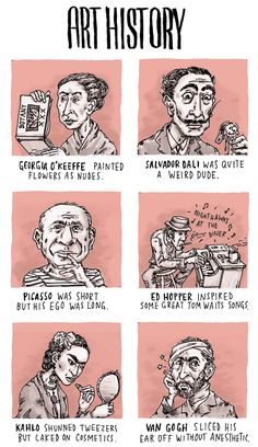 INCIDENTAL COMICS: Art History