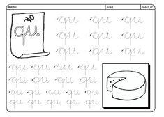 Grafismos de las letras - Secretos Marlove Math Equations, Writing, Reading, Texts, Literacy Activities, Alphabet, Lower Case Letters, Cursive Letters, Preschool Writing
