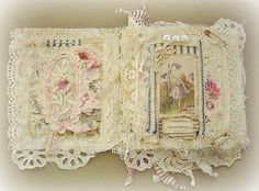 ❤ it . . . Fairy Fabric book page #1 ~By yitte