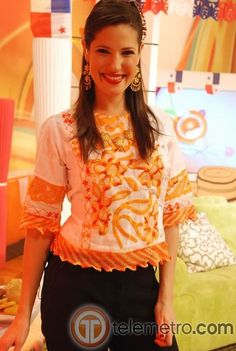 Vestidos Silenciosos, Trajes Panameños, Lucy Vestidos, Vestidos Panameños, Camisa Tejida, Crewel, Tejida Tipicos, Traje Típico, Alegoria Folklorica