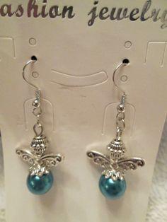 Colorful Angel Earrings