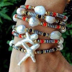 Set By Vila Veloni Pretty Pearls Bracelets