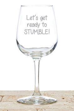 Stumble Wine Glass
