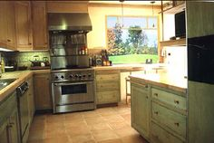 Nice cabinets in green