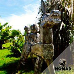 Este caballo es una de las piezas singulares que NOMAD escoge y trae de diversas partes del mundo.