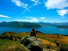 Roys Peak Track, Lake Wanaka New Zealand