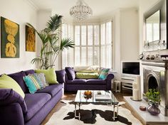"""A Long, Narrow Room: Avoid the """"corridor effect."""" Choose items that can be positioned to break up the feeling of a long, thin room, such as small coffee tables, side tables or armchairs. Break up the corridor effect by positioning pieces of furniture in clusters, instead of in a row. This tricks the eye into seeing a wider space. Ex: pick different seating options and arrange them together, instead of having just one long sofa against the long wall."""