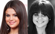 Kibbe Soft Gamines: Selena Gomez and Linda Ronstadt in their 20s. (Getty)