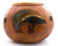 Native American Gourds Crafts | Places - Wild Gourd Studio, southwest gourd art Native American ...