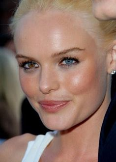 Kate bosworth's eyes. So cool