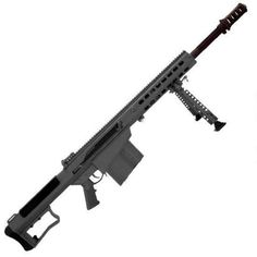 "Barrett M107A1 Semi Auto Rifle .50 BMG 20"" Fluted Barrel 10 Rounds Fixed Stock Grey Cerakote"