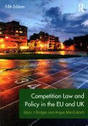 Competition Law and Policy in the EU and UK provides a focused guide to the main provisions and policies at issue in the EU and UK, including topics such as enforcement, abuse of dominance, anti-competitive agreements, cartels, mergers, and market investigations.    The book's contents are tailored to cover all major topics in competition law teaching, and the authors' clear and accessible writing style offers an engaging and easy to follow overview of the subject for course use.