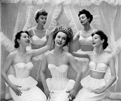 vintage 1950s lingerie