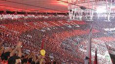 conte comigo mengão Flamengo Campeão da Copa do Brasil Maracanã Torcida