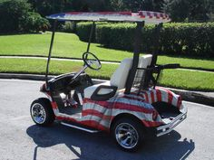 Patriotic golf   Custom Golf Cars - Custom Golf Carts - Diversified Golf Cars, Inc ... #SC13