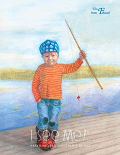 "Finland - As featured in ""My Very Own World Adventure"" personalized children's book by I See Me!"