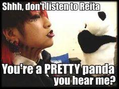 (the GazettE's Ruki) Lol! I love this one! >ω< ♡