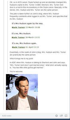 Hudson ships them so much - Sherlock (BBC) - Sherlock & John - johnlock Sherlock Holmes Bbc, Sherlock Fandom, Sherlock John, Watson Sherlock, Jim Moriarty, Sherlock Quotes, Supernatural Fandom, Johnlock, Martin Freeman