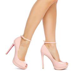 Enetta - ShoeDazzle- I love Pink