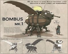 ArtStation - Race For The Globe - Bombus Mk.1, Nick Carver ★ || CHARACTER DESIGN REFERENCES (www.facebook.com/CharacterDesignReferences & pinterest.com/characterdesigh) • Do you love Character Design? Join the Character Design Challenge! (link→ www.facebook.com/groups/CharacterDesignChallenge) Share your unique vision of a theme every month, promote your art, learn and make new friends in a community of over 16.000 artists who share your same passion! || ★