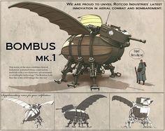 ArtStation - Race For The Globe - Bombus Mk.1, Nick Carver