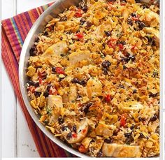 Plan to Eat - Cook's Country Tex-Mex Chicken and Rice (with THM E version) - Becjazz