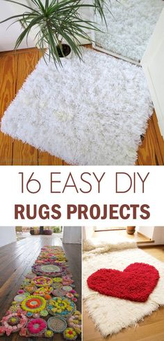 16 Awesome DIY Rugs to Brighten up Your Home - DIY rugs projects & ideas