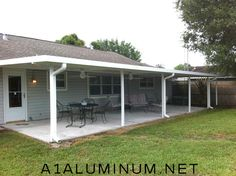 Aluminum Patio Cover By: Www.a1aluminum.net