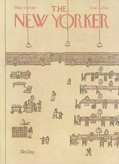 The New Yorker - Monday, March 17, 1980 - Issue # 2874 - Vol. 56 - N° 4 - Cover by : Robert Tallon