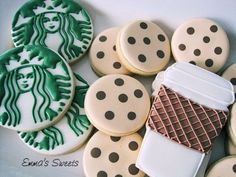 Starbucks cookie set Emma's Sweets