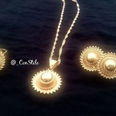 This timeless #Kutisha set is 22k #Gold plated. Soon also available in #Silver. £28/€32/$36