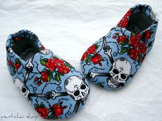 Bad ass baby slippers :)
