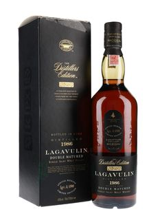 Lagavulin 1986 - Distillers Edition Scotch Whisky : The Whisky Exchange Whiskey Drinks, Cigars And Whiskey, Scotch Whiskey, Whiskey Bottle, Whiskey Lounge, Alcohol Bottles, Liquor Bottles, Whisky Tango, Liqueurs