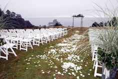 Ecola State Park - Gorgeous Oregon Coast Wedding Ceremony venue.  #champagnenw #portlandweddingplanner #oregoncoastwedding