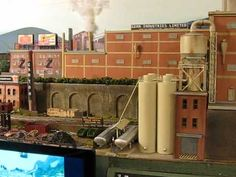 hand held Video tour of HO scale layout. nice.