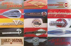 Harley Gas Tank Graphics