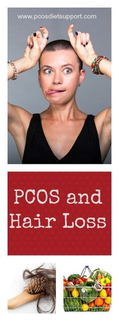 PCOS and Hair Loss is a difficult combination to manage and can be incredibly distressing. Find out more at www.pcosdietsupport.com #hairloss